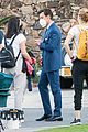 harry styles looks dapper in two suits on dont worry darling set in palm springs 30