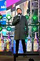 ryan seacrest lucy hale billy porter in times square 08