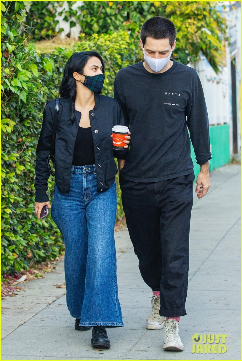 camila mendes grayson vaughan hold hands while out in los angeles 054514109