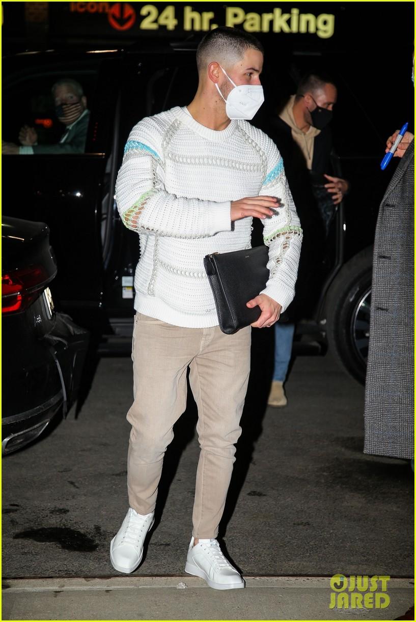 nick jonas cool fashion in nyc 134527699