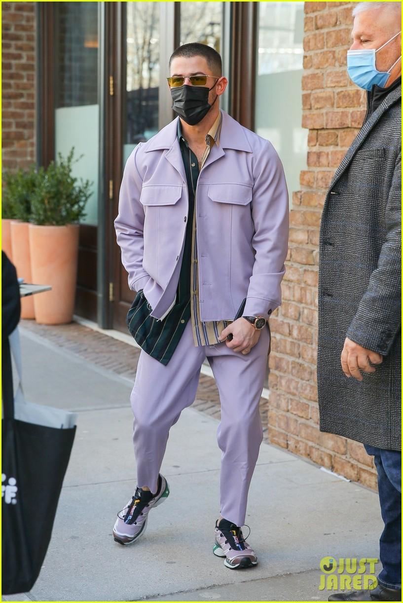 nick jonas cool fashion in nyc 164527702