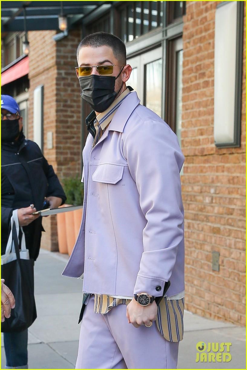 nick jonas cool fashion in nyc 174527703