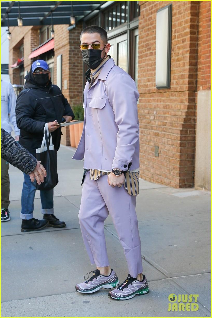 nick jonas cool fashion in nyc 184527704