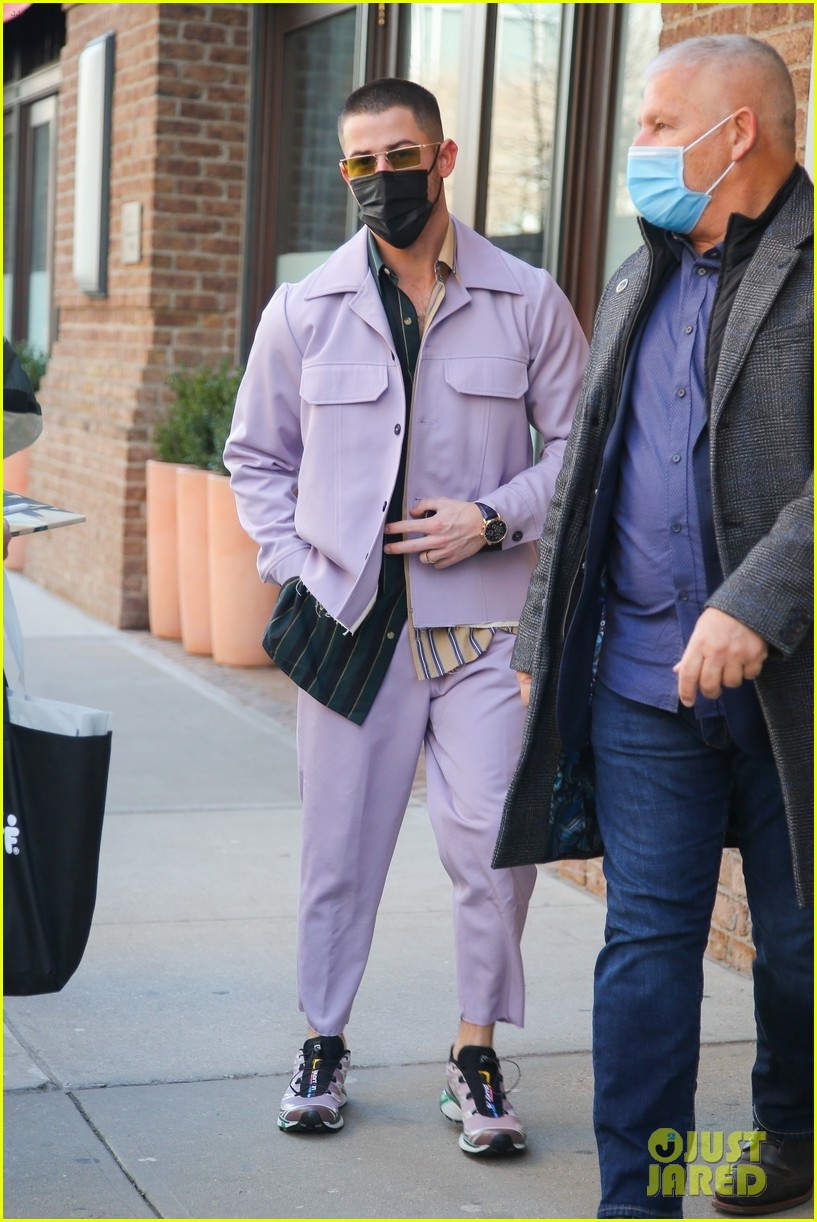 nick jonas cool fashion in nyc 204527706