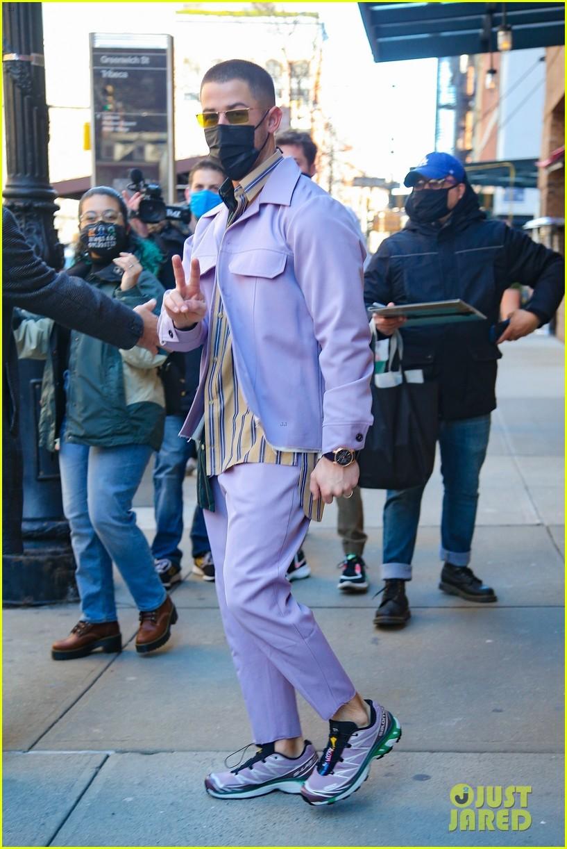 nick jonas cool fashion in nyc 254527711