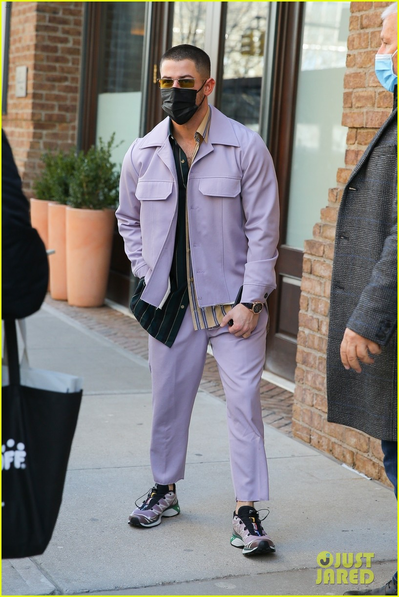 nick jonas cool fashion in nyc 264527712