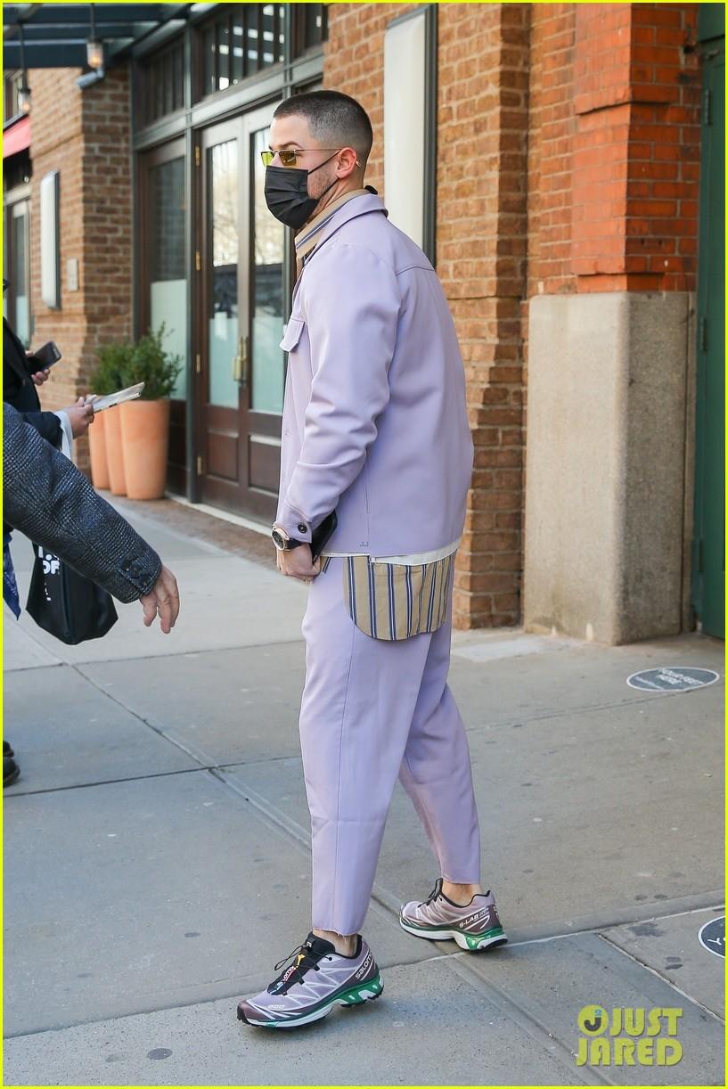 nick jonas cool fashion in nyc 314527717