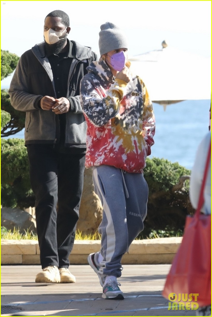 hailey justin bieber lunch nobu unstable quote 03