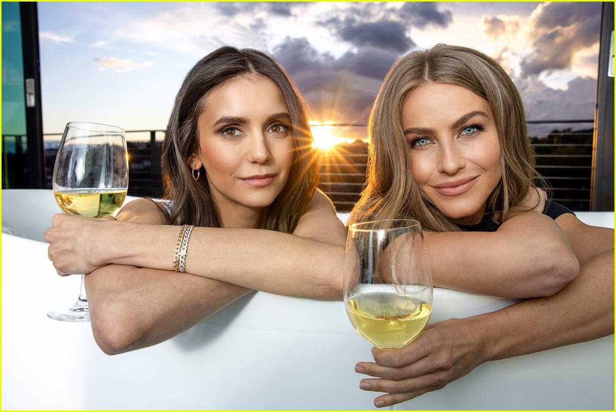nina dobrev julianne hough wine company 084536134