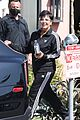 Photo 2 of Kris Jenner Stays Safe Behind Face Shield While Filming a New Commercial