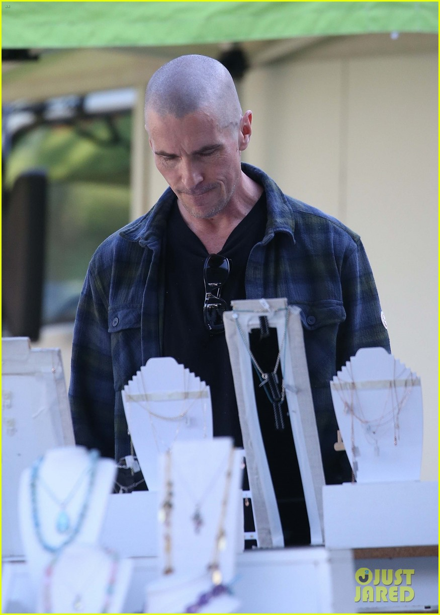 christian bale bald head in australia 044544738