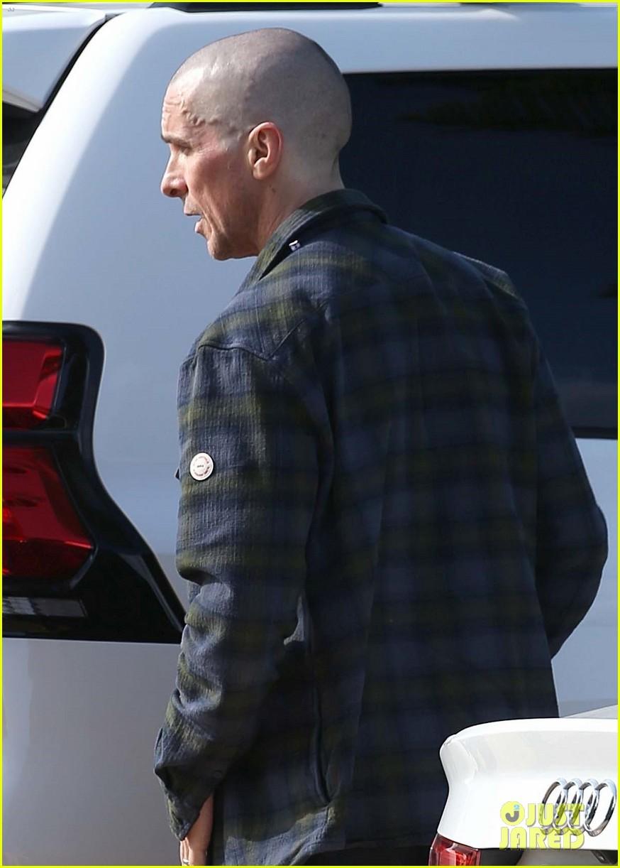 christian bale bald head in australia 114544745