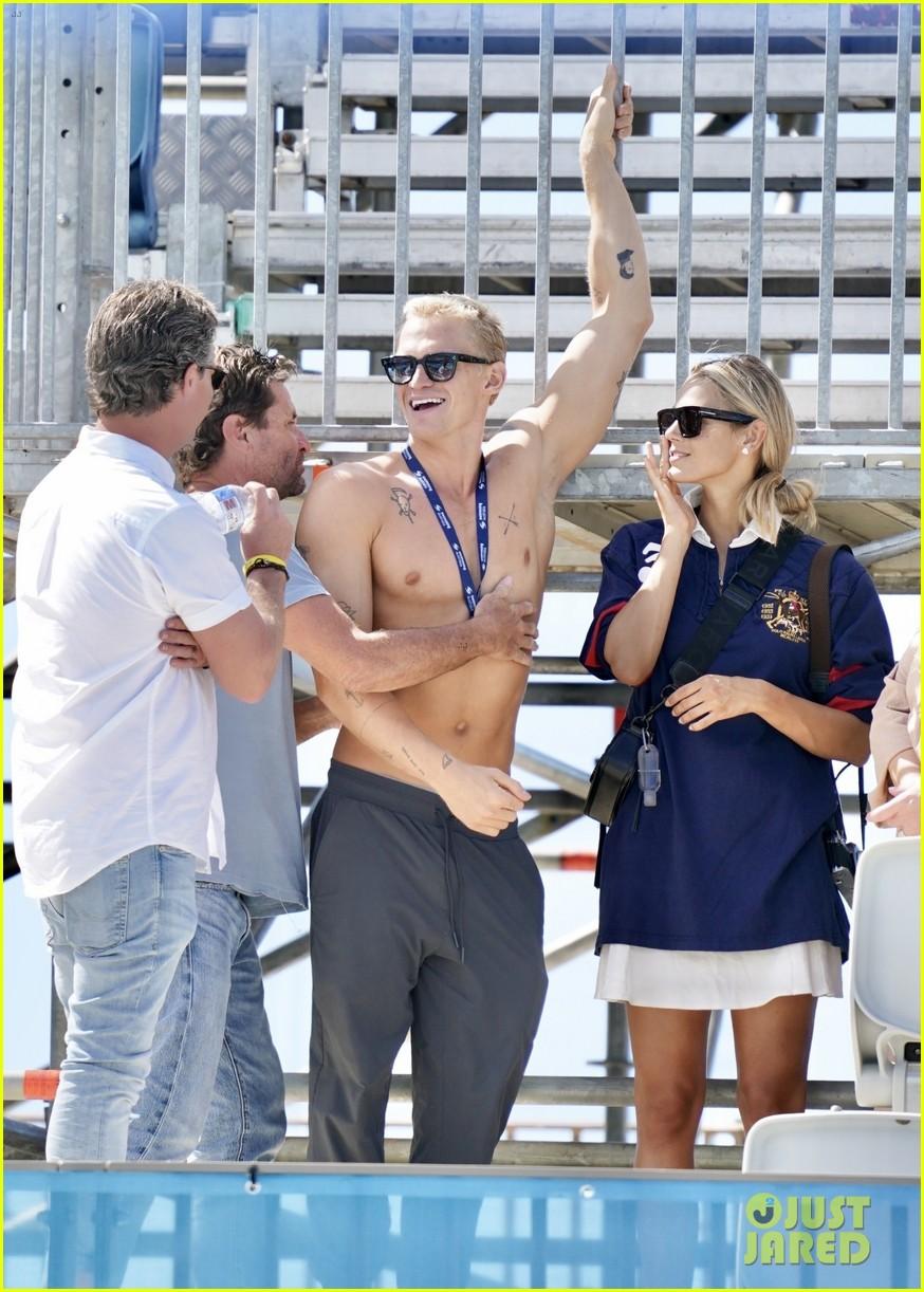 cody simpson marloes stevens aussie swim race pics 054544213