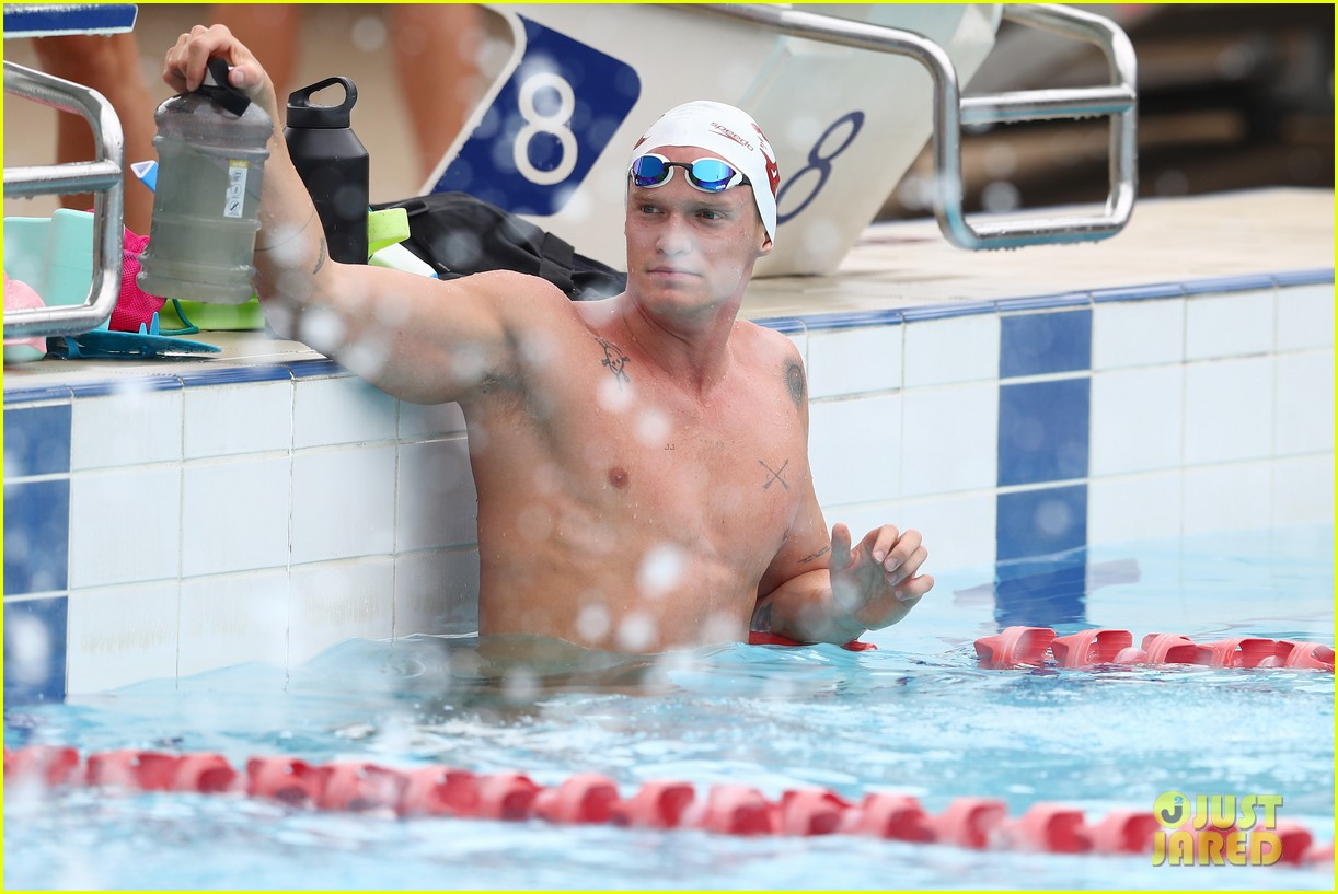 cody simpson marloes stevens aussie swim race pics 144544222