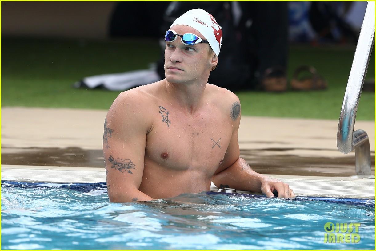 cody simpson marloes stevens aussie swim race pics 224544230
