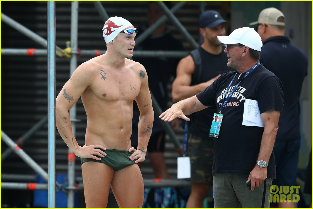 cody simpson marloes stevens aussie swim race pics 264544234
