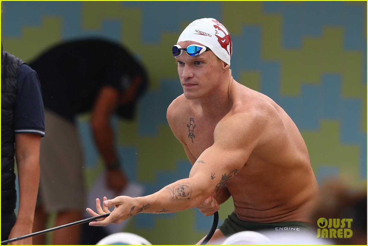 cody simpson marloes stevens aussie swim race pics 284544236