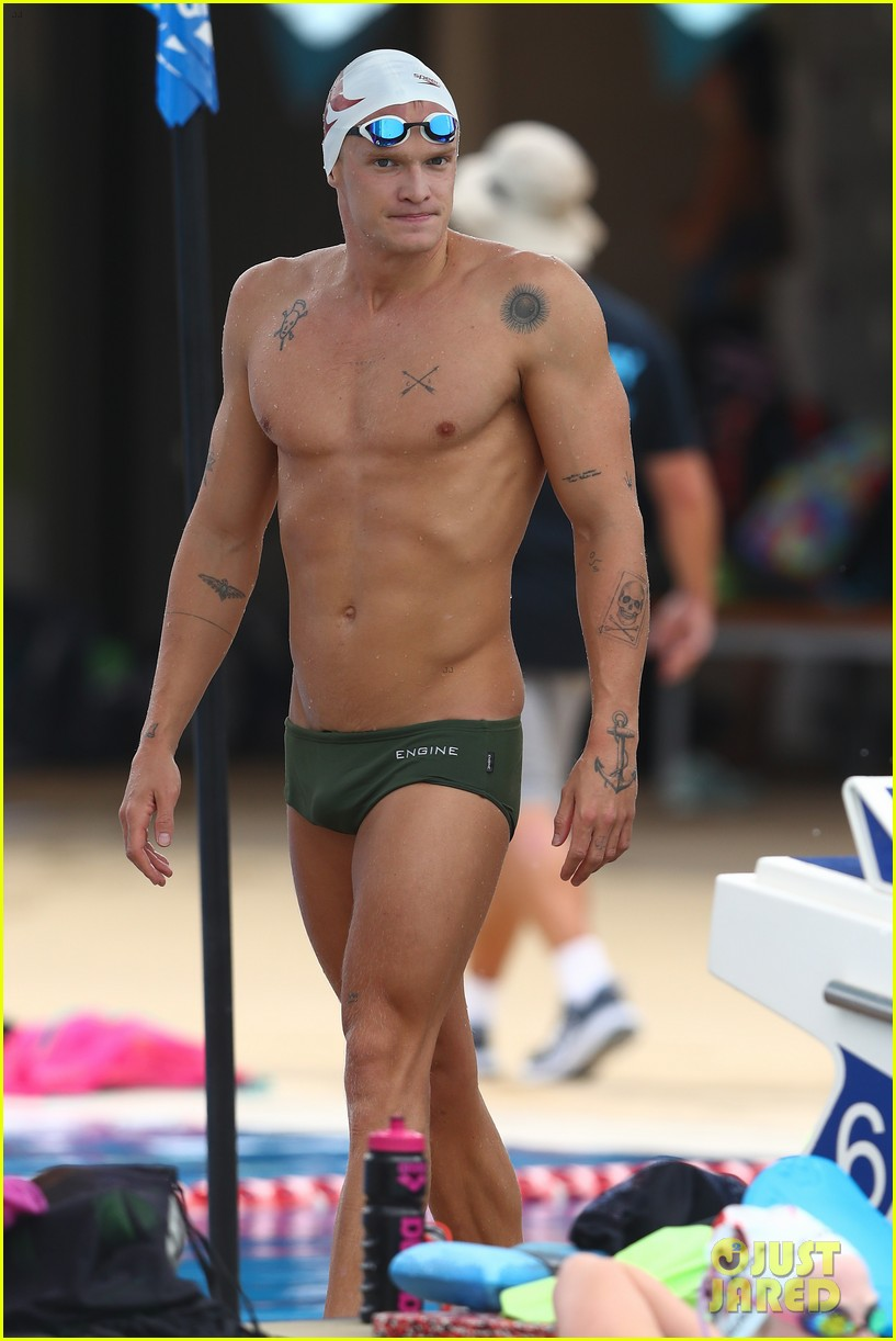 cody simpson marloes stevens aussie swim race pics 294544237