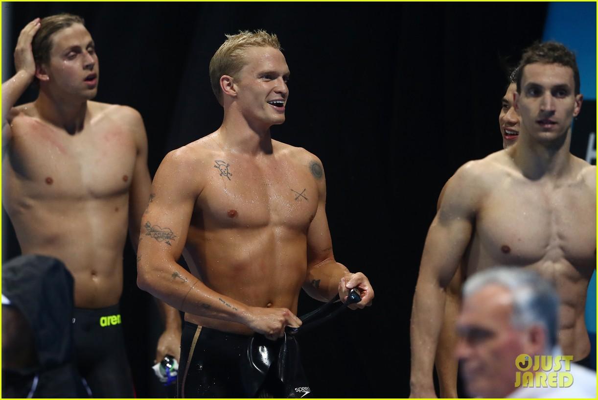 cody simpson marloes stevens aussie swim race pics 314544239