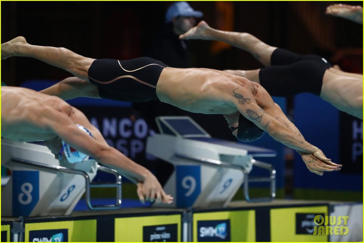 cody simpson marloes stevens aussie swim race pics 334544241