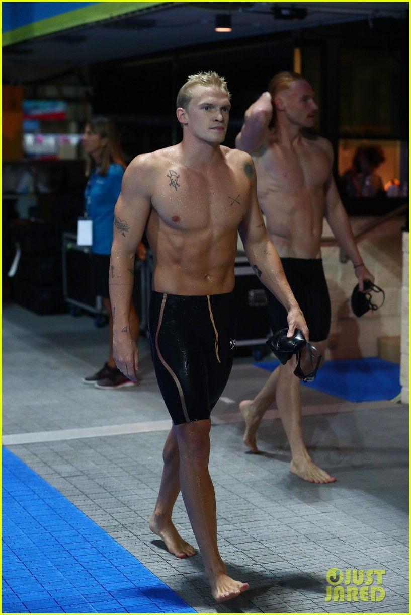 cody simpson marloes stevens aussie swim race pics 364544244