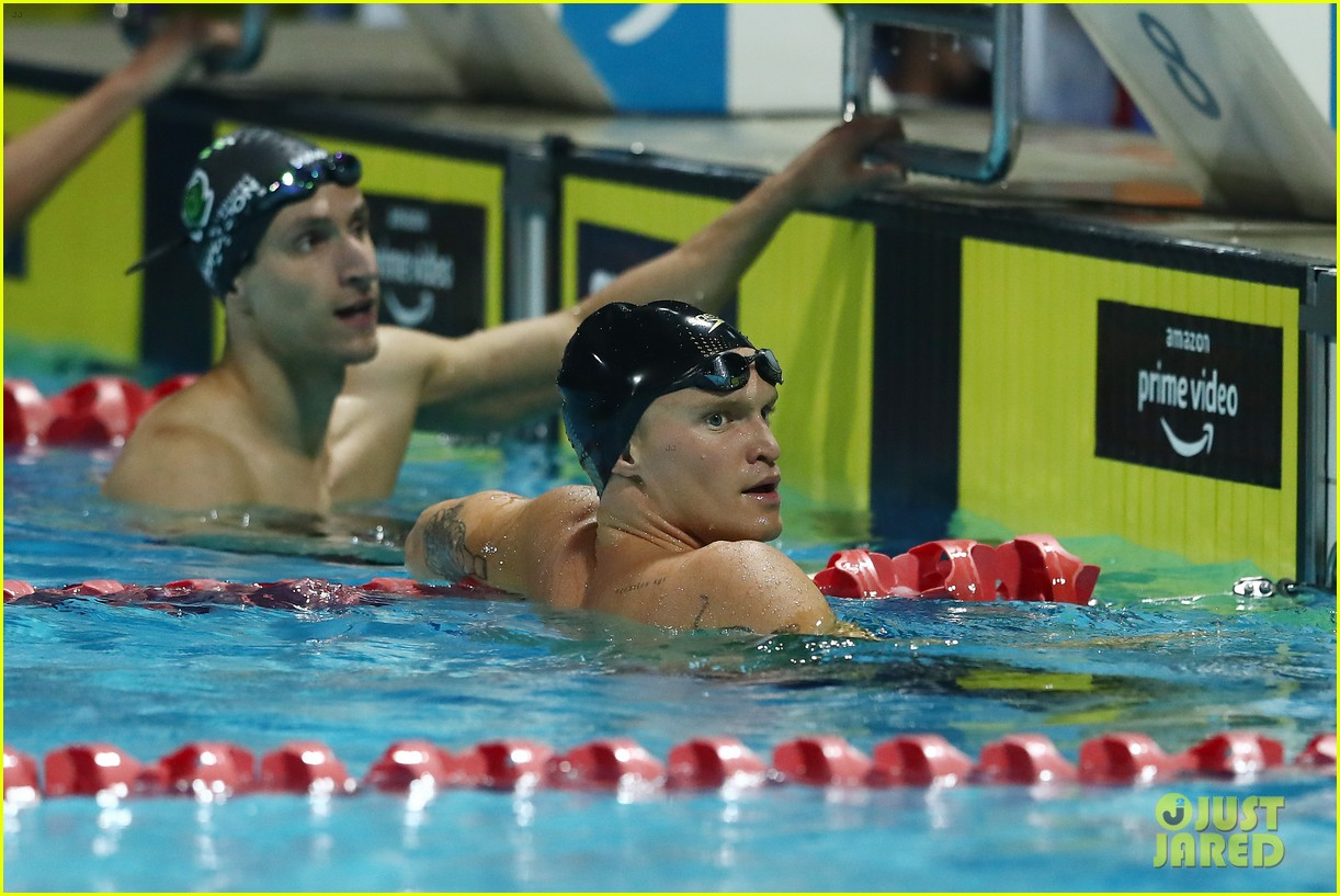 cody simpson marloes stevens aussie swim race pics 424544250