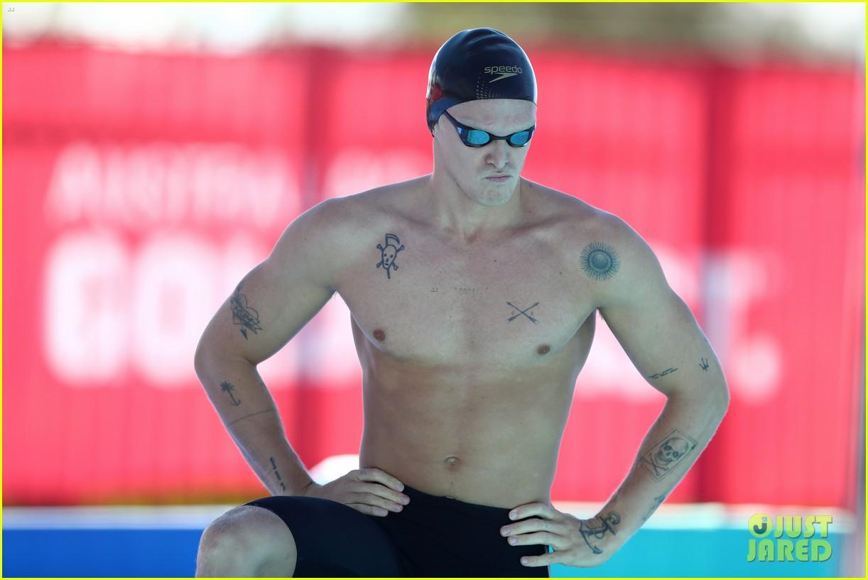cody simpson marloes stevens aussie swim race pics 504544258