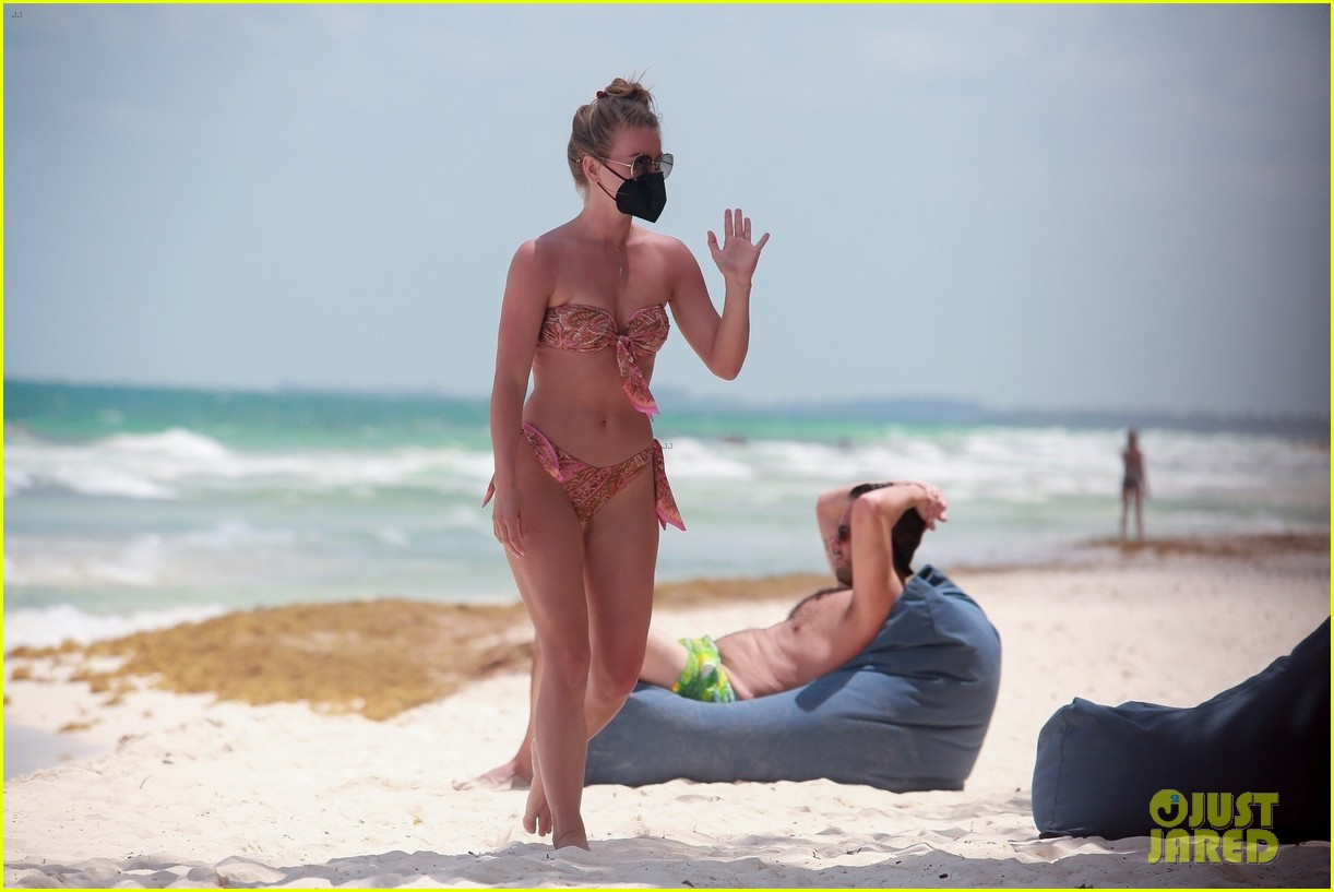 julianne hough goes for dip in ocean mexican vacation 114549508