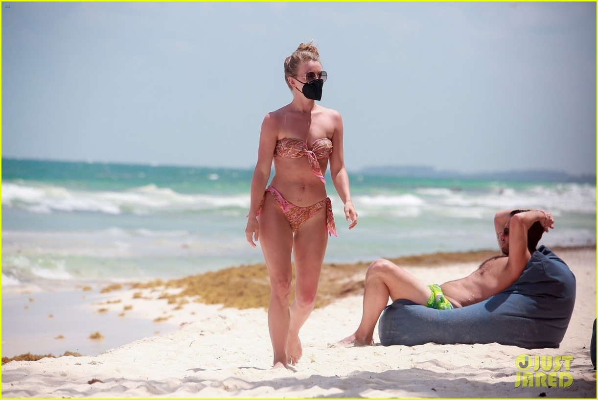 julianne hough goes for dip in ocean mexican vacation 204549517