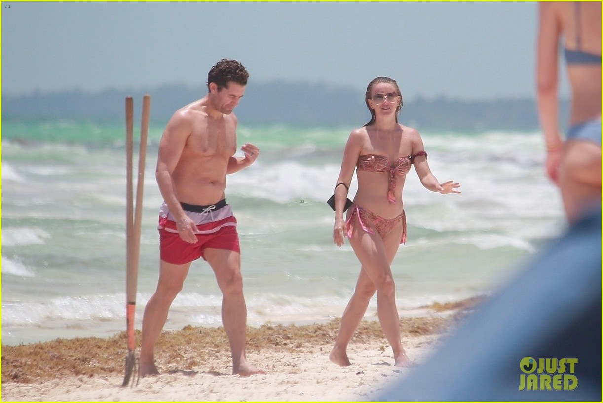 julianne hough goes for dip in ocean mexican vacation 224549519