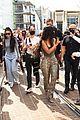 Photo 46 of Kim Kardashian Visits Her SKIMS Pop-Up Shop After Becoming a Billionaire!