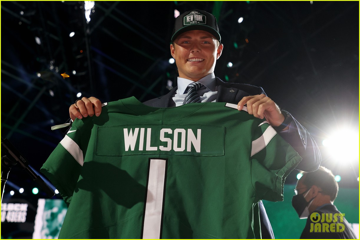zach wilson at the nfl draft 094549868