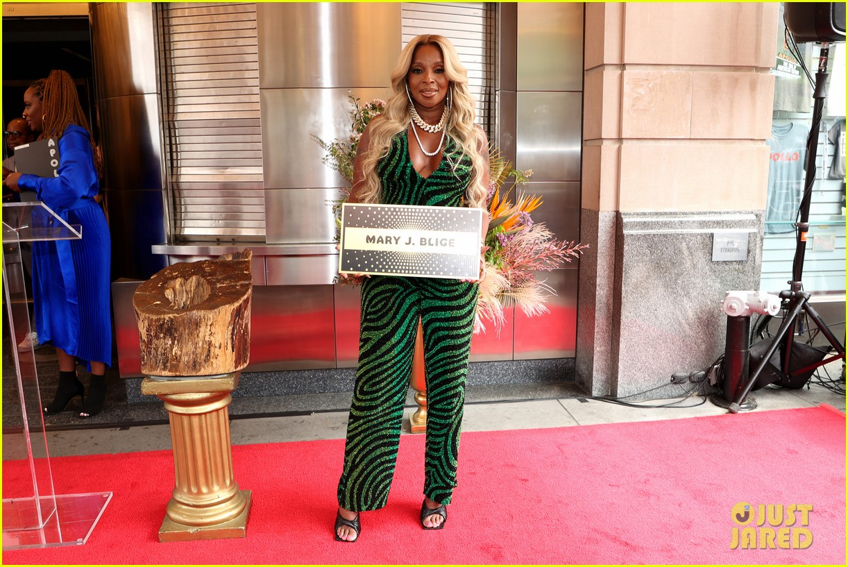 mary j blige apollo hall of fame 084561905