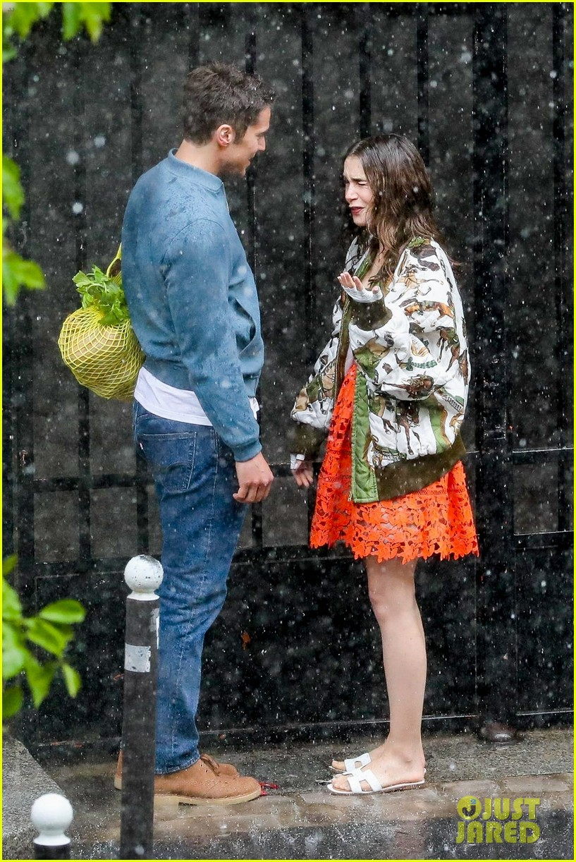 lily collins caught in rain with lucas bravo emily in paris 444558020