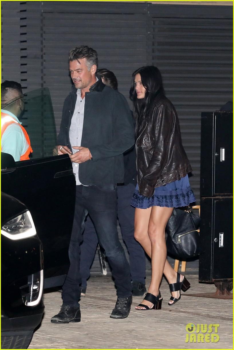 josh duhamel dinner with girlfriend audra mari 044552112