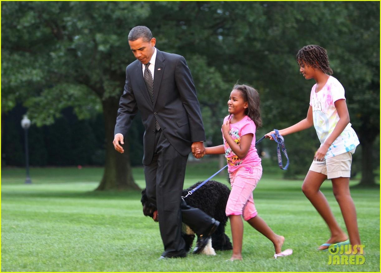 obamas mourn death of dog bo 014553768