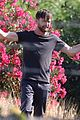 aaron paul much different look new movie set 12