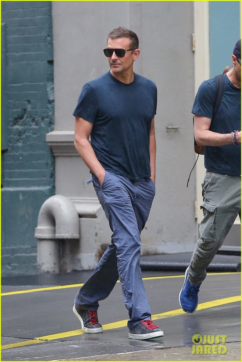 bradley cooper meets up with a friend for walk around nyc 034575760