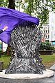 isaac wright celebrates iron throne statue launch 07