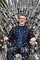 isaac wright celebrates iron throne statue launch 10