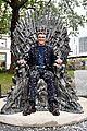 isaac wright celebrates iron throne statue launch 19