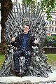 isaac wright celebrates iron throne statue launch 38