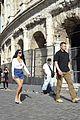 kim kardashian tours rome weekend getaway 60