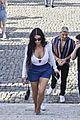 kim kardashian tours rome weekend getaway 79