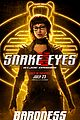 Photo 6 of New 'Snake Eyes' Posters Reveal So Many Details About the Characters!