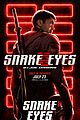 Photo 12 of New 'Snake Eyes' Posters Reveal So Many Details About the Characters!