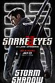 Photo 18 of New 'Snake Eyes' Posters Reveal So Many Details About the Characters!