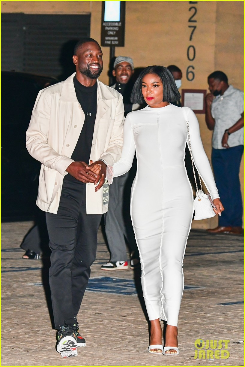 gabrielle union dwyane wade couple up for date night 014564993
