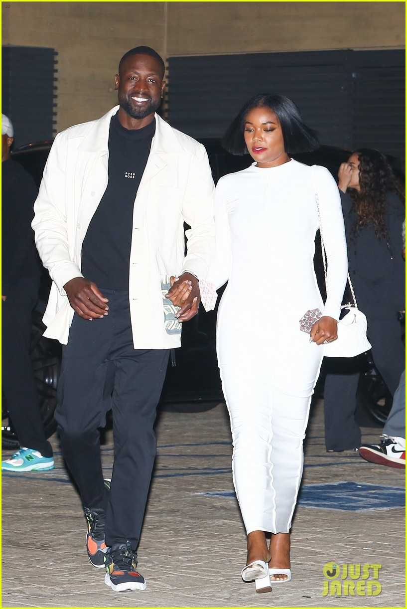 gabrielle union dwyane wade couple up for date night 054564997