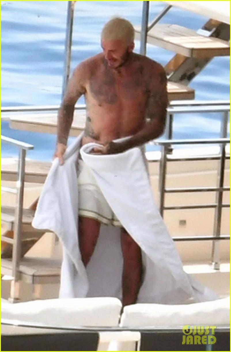david beckham jumps off yacht with son cruz beckham 014594567